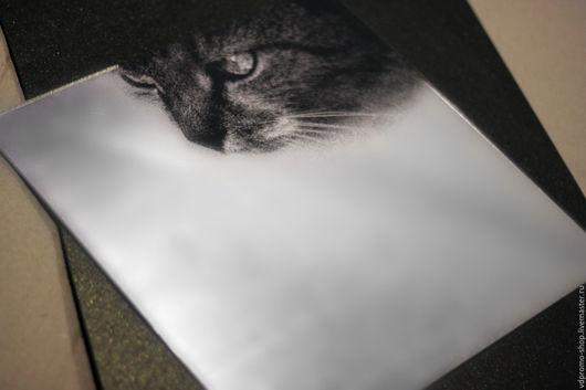 Зеркала ручной работы. Ярмарка Мастеров - ручная работа. Купить Акриловое зеркало Кошка. Handmade. Акриловое зеркало, Необычное зеркало