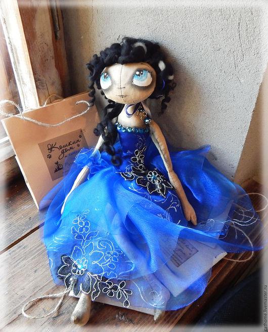 Куклы тыквоголовки ручной работы. Ярмарка Мастеров - ручная работа. Купить Кристин. Handmade. Ароматизированная кукла, хлопок 100%