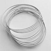 Материалы для творчества handmade. Livemaster - original item Wire partitions cloisonné 0,25h0,75 laminated 925 sterling silver. Handmade.