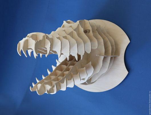 Элементы интерьера ручной работы. Ярмарка Мастеров - ручная работа. Купить Голова Крокодила. Handmade. Крокодил, декор для интерьера