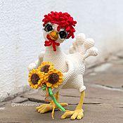 Куклы и игрушки handmade. Livemaster - original item Chicken Monica. Handmade.