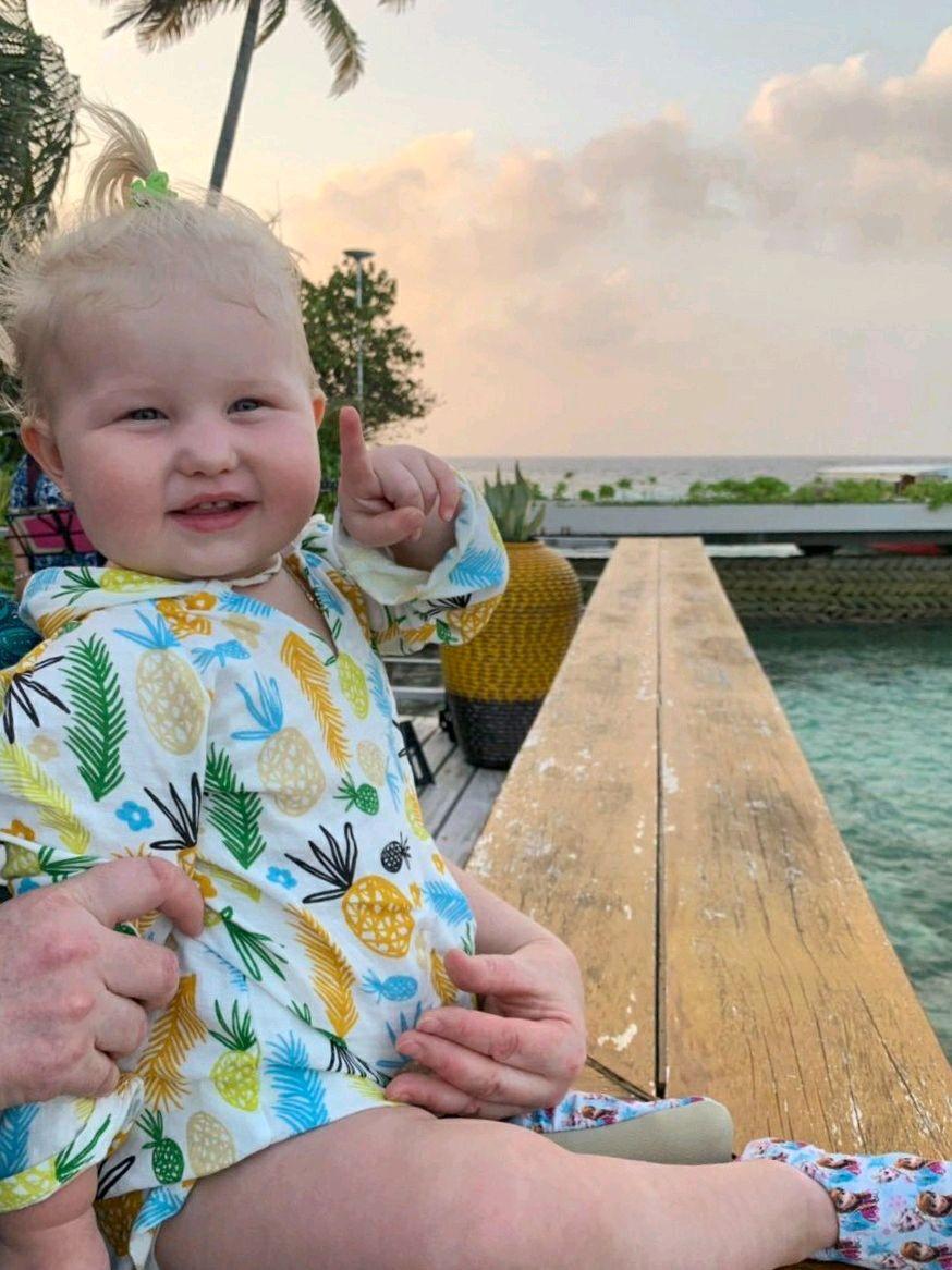 Пляжная накидка,туника или рубашка из муслина для детей