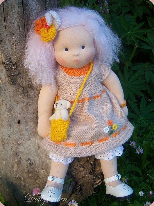 Вальдорфская игрушка ручной работы. Ярмарка Мастеров - ручная работа. Купить Лолита, вальдорфская кукла. Handmade. Текстильная кукла