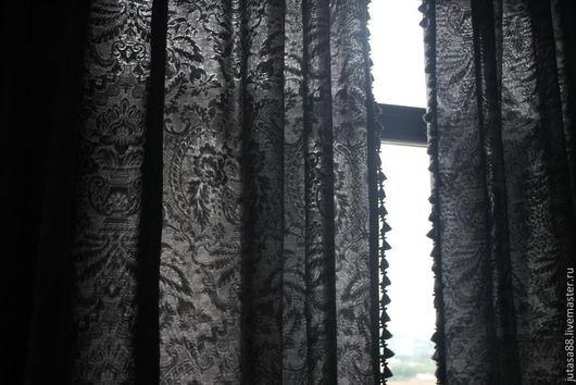 Текстиль, ковры ручной работы. Ярмарка Мастеров - ручная работа. Купить Шторы на заказ. Handmade. Шторы, текстиль на заказ
