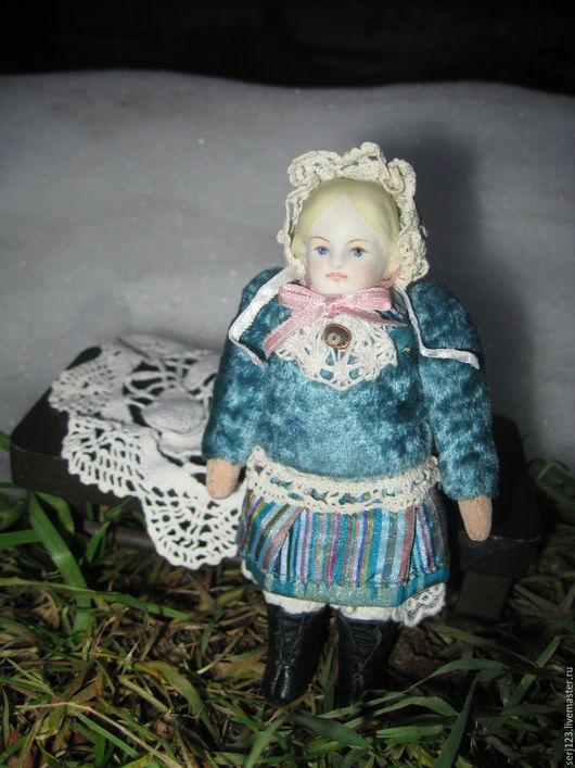 """Коллекционные куклы ручной работы. Ярмарка Мастеров - ручная работа. Купить Куколка """" Кэти """". Handmade. Голубой, девочка"""