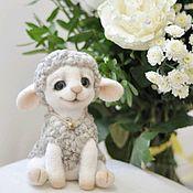 Куклы и игрушки handmade. Livemaster - original item felted toy Sheep. Handmade.