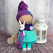 """Куклы и игрушки ручной работы. Ярмарка Мастеров - ручная работа Текстильная интерьерная кукла """"Мятный гномик"""". Handmade."""