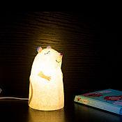 Для дома и интерьера ручной работы. Ярмарка Мастеров - ручная работа Светильник войлочный Мышонок. Handmade.