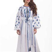 Одежда handmade. Livemaster - original item Boho Dress. Embroidered long dress. Hijab. Abay. Handmade.