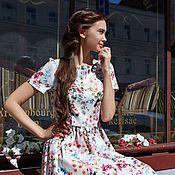 """Одежда ручной работы. Ярмарка Мастеров - ручная работа Платье """"Акварель"""". Handmade."""