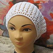Аксессуары ручной работы. Ярмарка Мастеров - ручная работа Шапка-мешок, шапка бини летняя. Handmade.