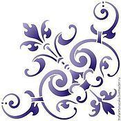 Трафареты ручной работы. Ярмарка Мастеров - ручная работа Трафарет на клеевой основе многоразовый. Handmade.