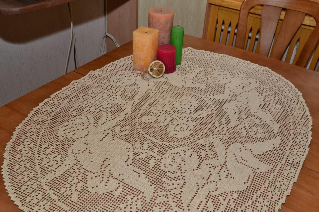 """Кружевная скатерть """"Ангелы"""", Tablecloths, Nikolaev,  Фото №1"""