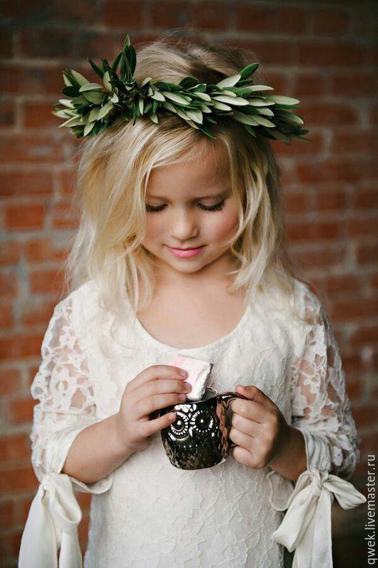 Одежда для девочек, ручной работы. Ярмарка Мастеров - ручная работа. Купить Платье Дольче Вита. Handmade. Белый, платье для девочки