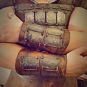 Субкультуры handmade. Livemaster - original item Armor leather. Handmade.