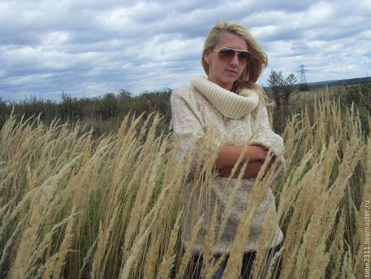 Кофты и свитера ручной работы. Ярмарка Мастеров - ручная работа. Купить Свитер Осенний стиль. Handmade. Пуловер, женский свитер