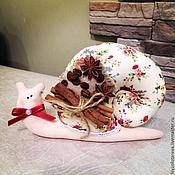 Куклы и игрушки ручной работы. Ярмарка Мастеров - ручная работа улиточки тильда. Handmade.