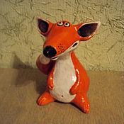 Куклы и игрушки ручной работы. Ярмарка Мастеров - ручная работа Новый лис. Handmade.