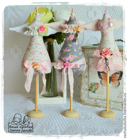 Куклы Тильды ручной работы. Ярмарка Мастеров - ручная работа. Купить Тильда Манекен. Handmade. Розовый, манекен для бижутерии