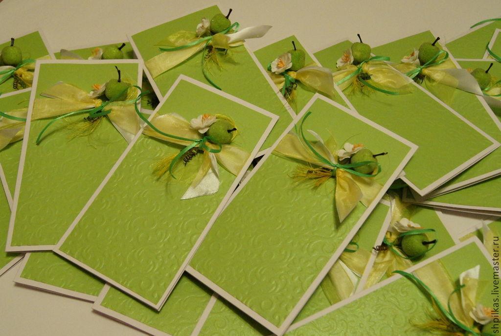 Яблочная свадьба открытки