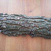 Материалы для творчества ручной работы. Ярмарка Мастеров - ручная работа Продольный спил дерева -груша с корой. Handmade.
