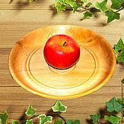 Посуда handmade. Livemaster - original item Wooden plate Dish 27#12. Handmade.