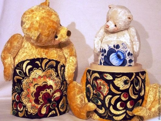 Мишки Тедди ручной работы. Ярмарка Мастеров - ручная работа. Купить Мишка-Матрёшка! 5 в 1. Handmade. Мишка, авторская