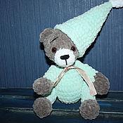 Мягкие игрушки ручной работы. Ярмарка Мастеров - ручная работа Маленький волшебник, мишка в пижаме. Handmade.