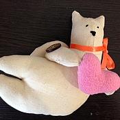 Куклы и игрушки ручной работы. Ярмарка Мастеров - ручная работа кот-летун. Handmade.