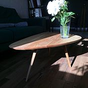 Столы ручной работы. Ярмарка Мастеров - ручная работа Жульнальный стол из ясеня. Handmade.