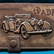 """Сумки и аксессуары handmade. Livemaster - original item Driver licence holder """"ADR Bergmeister"""". Handmade."""