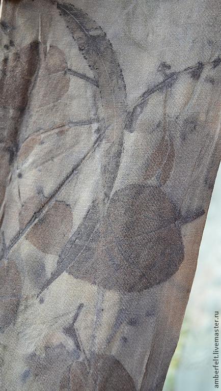 """Кофты и свитера ручной работы. Ярмарка Мастеров - ручная работа. Купить Хлопковый  пуловер """"Теплый вечер"""". Эко стиль. Handmade."""