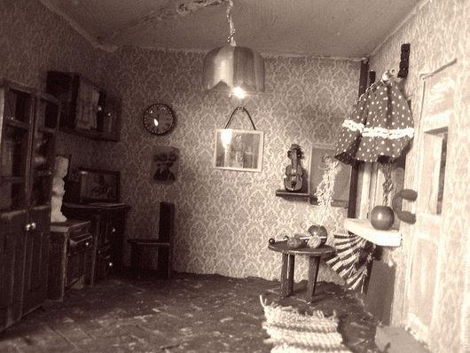 Кукольный дом ручной работы. Ярмарка Мастеров - ручная работа. Купить Назад в прошлое. Handmade. Румбокс, марина иванникова