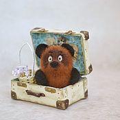 Куклы и игрушки ручной работы. Ярмарка Мастеров - ручная работа Винни Пух. Handmade.