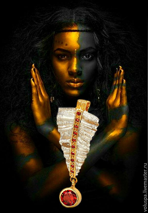 Pendant-Talisman 'Queen Of Hearts-2.The Seal Of Higher Destiny', Amulet, Sochi,  Фото №1