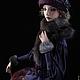 Коллекционные куклы ручной работы. Ярмарка Мастеров - ручная работа. Купить Прогулка В частной коллекции. Handmade. Дама, с собачкой