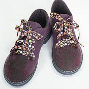 Обувь ручной работы. Ярмарка Мастеров - ручная работа Туфли весенние. Handmade.