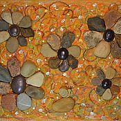 """Картины и панно ручной работы. Ярмарка Мастеров - ручная работа Картина """"Осенние цветы"""". Handmade."""