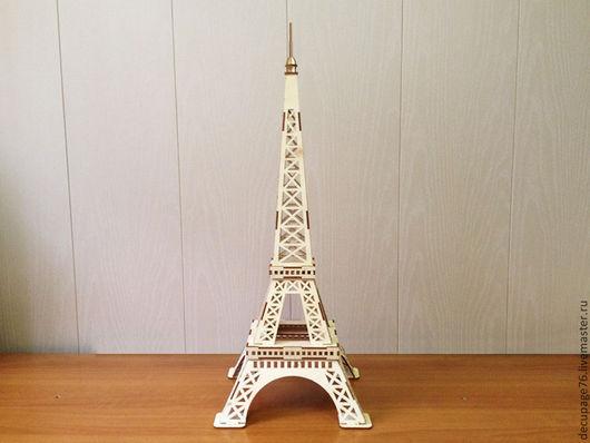 Эйфелева башня (продается в разобранном виде в палетах) Размер: 51х21х21 см Материал: фанера 3 мм