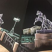 Аксессуары ручной работы. Ярмарка Мастеров - ручная работа Петербург. Аничков мост. Handmade.