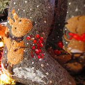 """Обувь ручной работы. Ярмарка Мастеров - ручная работа Валенки унисекс, """"Зимнее свидание"""". Handmade."""