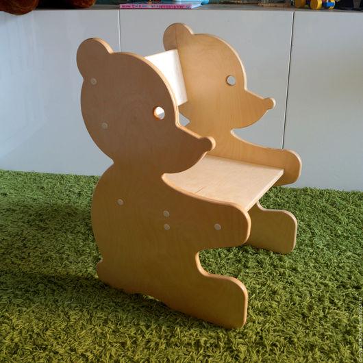 """Детская ручной работы. Ярмарка Мастеров - ручная работа. Купить Детский стул """"Мишка-эко"""". Handmade. Бежевый, для девочки"""
