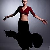 Костюмы ручной работы. Ярмарка Мастеров - ручная работа Тренировочный костюм для бальных танцев. Handmade.