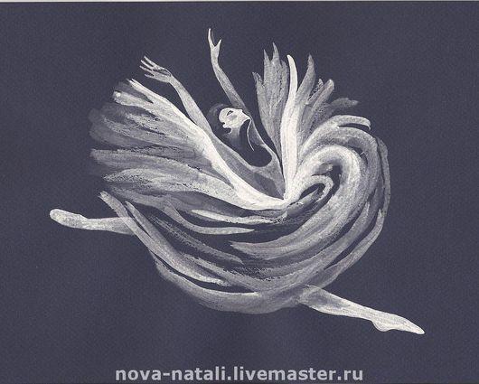 Люди, ручной работы. Ярмарка Мастеров - ручная работа. Купить Балерина. Handmade. Балет, балерина, лебедь, Лебединое озеро