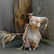 Куклы и игрушки handmade. Livemaster - original item Bear-Teddy