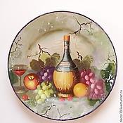 Посуда ручной работы. Ярмарка Мастеров - ручная работа Тарелка декоративная Вкусные штучки. Handmade.