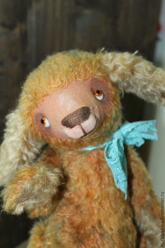 Мишки Тедди ручной работы. Ярмарка Мастеров - ручная работа. Купить Барашек Изя. Handmade. Символ 2015 года