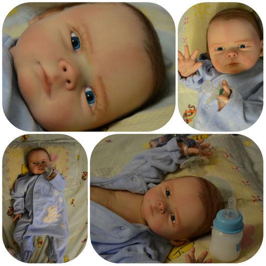 Куклы-младенцы и reborn ручной работы. Ярмарка Мастеров - ручная работа. Купить Малыш реборн новый. Handmade.
