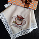 Handkerchief women's and men's Owl and the Fox, Handkerchiefs, Moscow,  Фото №1