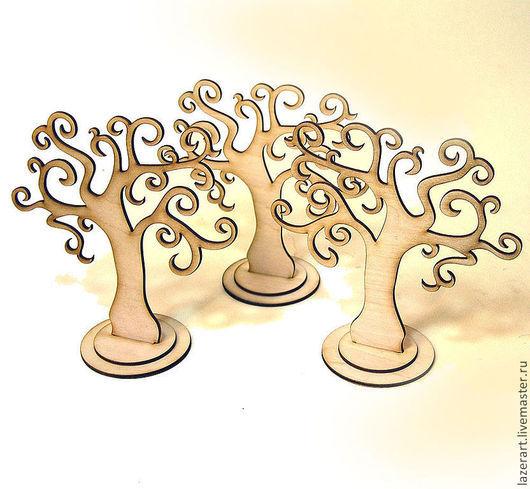 Декупаж и роспись ручной работы. Ярмарка Мастеров - ручная работа. Купить Деревце с завитками. Handmade. Бежевый, дерево любви